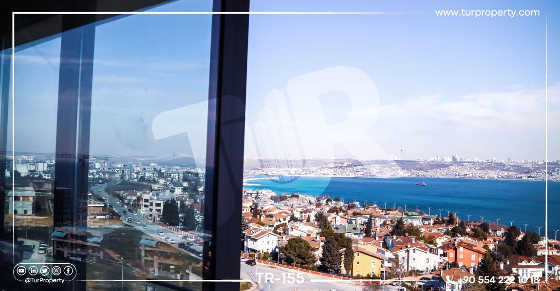 آپارتمانهای فروشی در ترکیه با دید دریا
