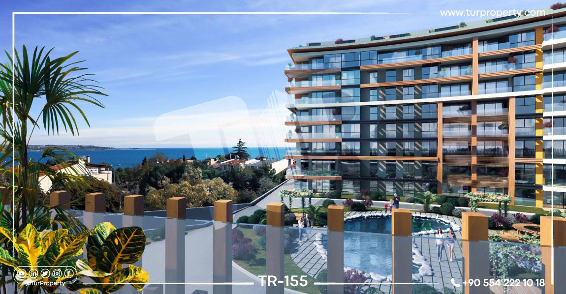 آپارتمانهای کنار دریا برای فروش در ترکیه