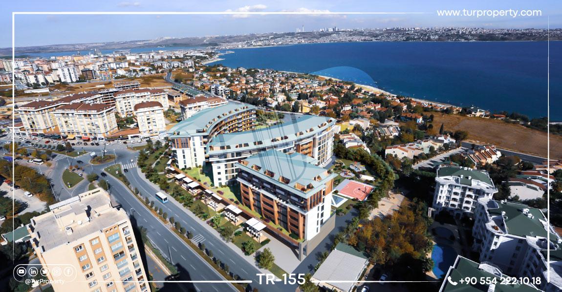 آپارتمان های کنار دریا برای فروش  در استانبول