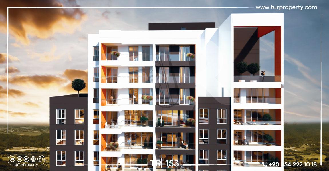 آپارتمان های خانوادگی ارزان در استانبول برای فروش