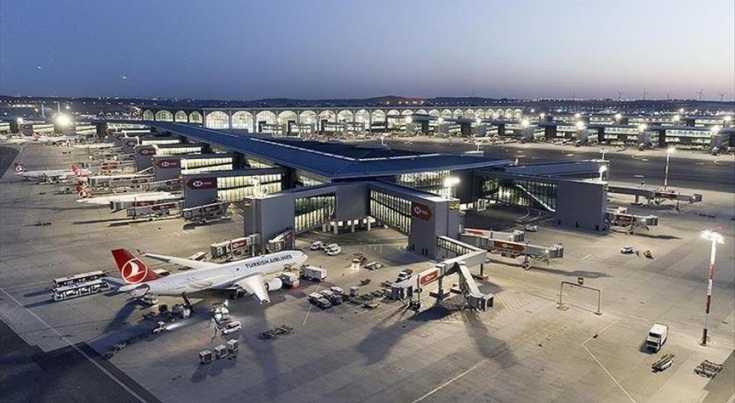 مطار إسطنبول الأول أوروبيا والثاني عالميا في 2021